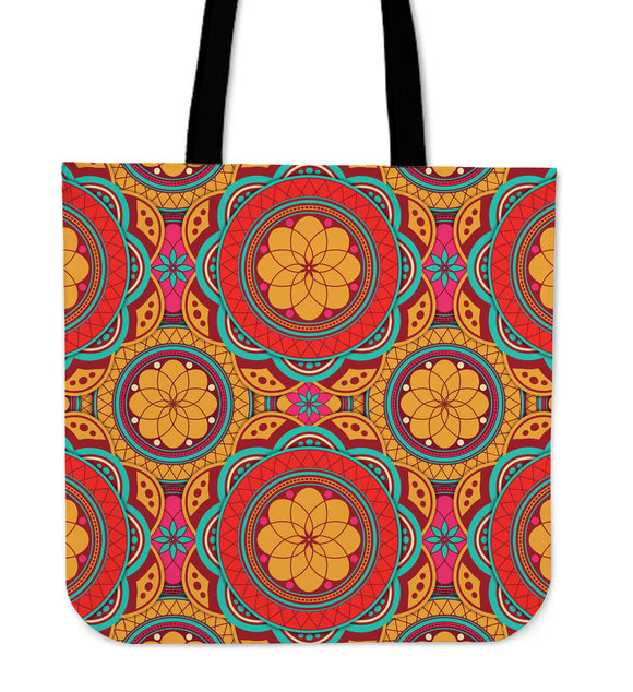 Perfect Oriental Power Cloth Tote Bag