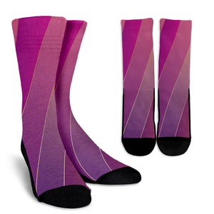 Glamour Purple Crew Socks