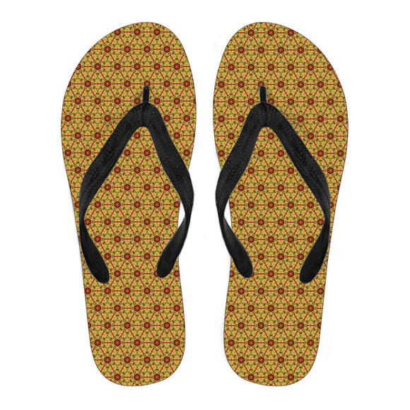 Tropical Orchid Vol. 2 Women's Flip Flops