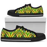 Racing Brazil Style Neon Green & Yellow Colorful Vibes Low Top Shoe