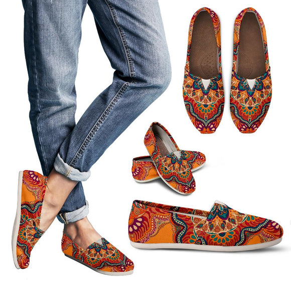Ornamental Orange Heaven Women's Casual Shoes