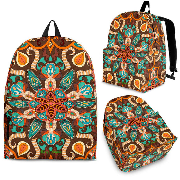 Most Beautiful Mandala Design Three Backpack