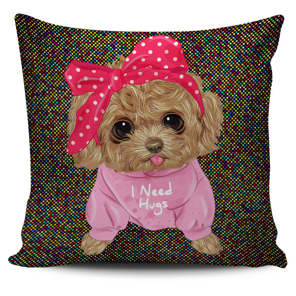 Cute I Need Hugs Pillow Cover