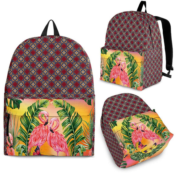 Flamingo Lovers Backpack