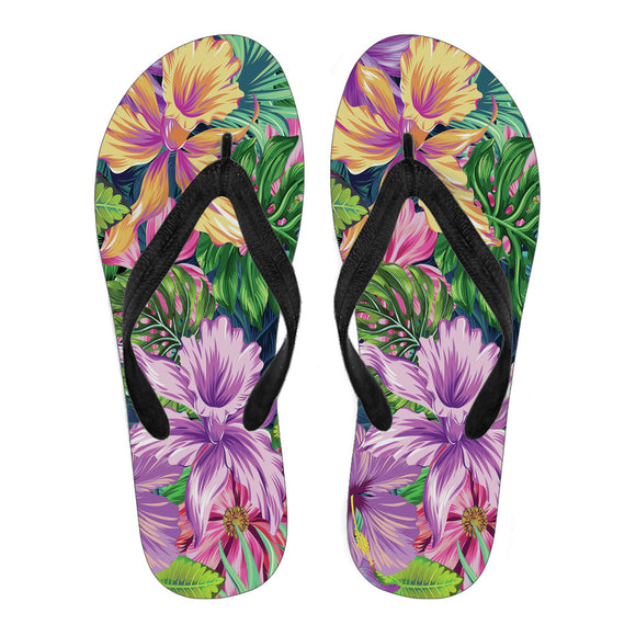 Tropical Orchid Women's Flip Flops