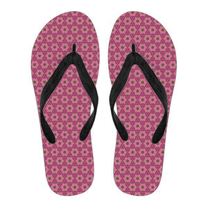 Lovely Pink Vol. 2 Women's Flip Flops