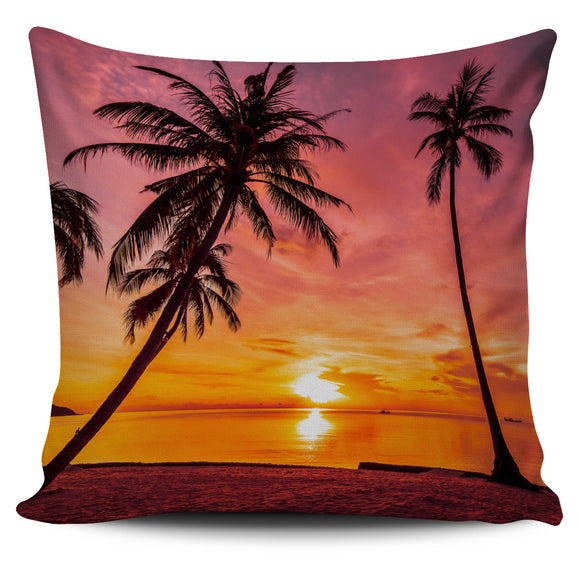Luxury Tropical Pillow Cover