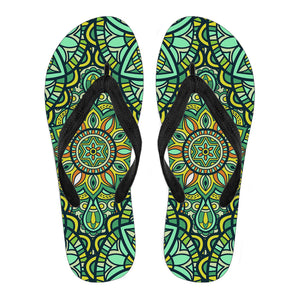 Magic Mandala Vol. 1 Women's Flip Flops