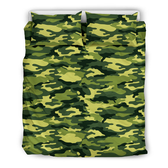 Real Camouflage Green Special Bedding Set