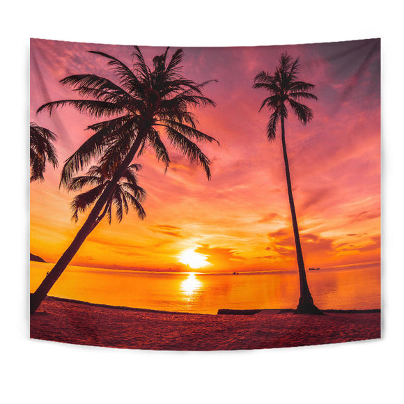 Luxury Tropical Tapestry