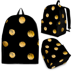 Luxury Golden Dots Backpack