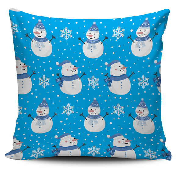 Christmas Perfect Blue Good Vibes Only Pillow Cover
