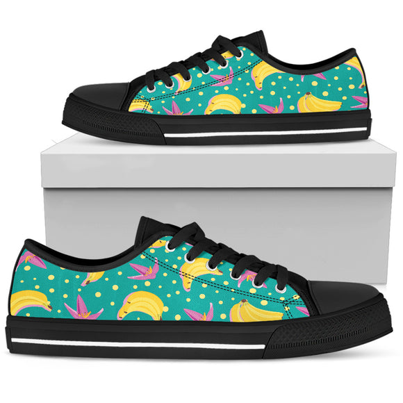 Banana Split Women's Low Top Shoes
