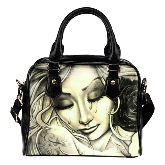 Ladies Tears Shoulder Handbag