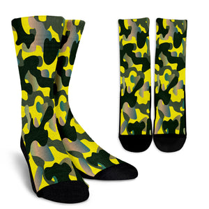 Visible Camouflage Crew Socks