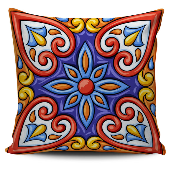 Amazing Bohemian Flower Pillow Cover