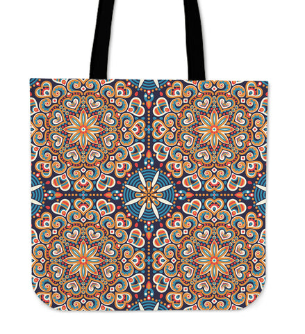 Ornamental Oriental Luxury Cloth Tote Bag