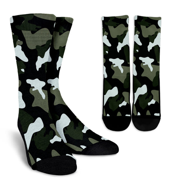 Simply Army Crew Socks