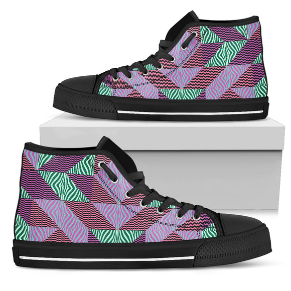 African Dream Women's High Top Shoes
