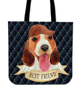 Cute Best Friend Cloth Tote Bag