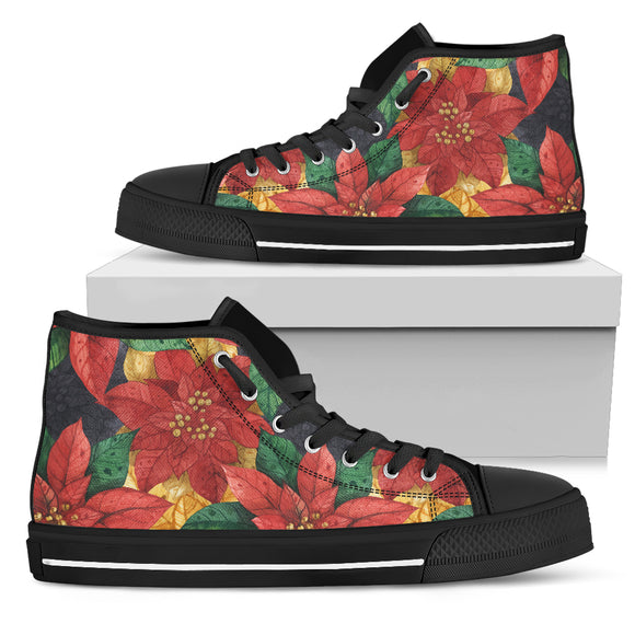 Love Christmas Men's High Top Shoes