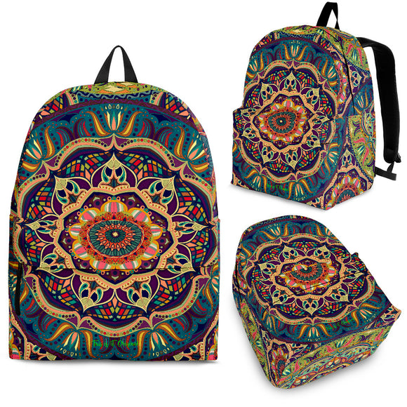 Exclusive Mandala Style Backpack 2 Special Edition by This is iT Original
