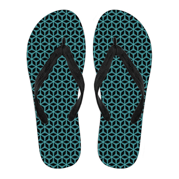 From The Jungle Women's Flip Flops