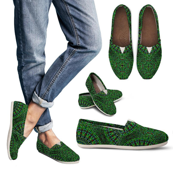 Oriental Green Love Women's Casual Shoes