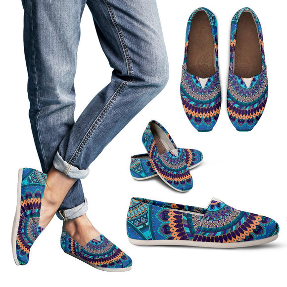 Oriental Ornamental Mandala Women's Casual Shoes