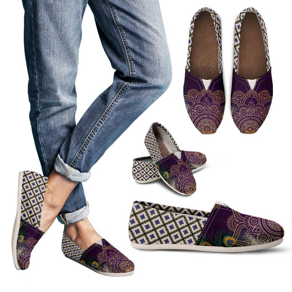 Purple Peacock Women's Casual Shoes