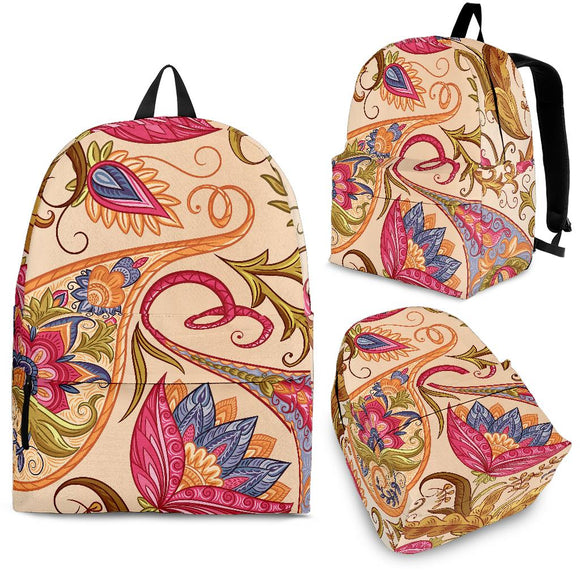 Royal Paisley Backpack