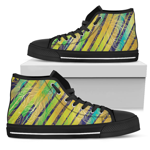 Splash Lights Women's High Top Shoes