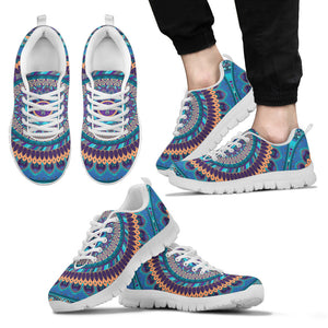 Oriental Ornamental Mandala Men's Sneakers