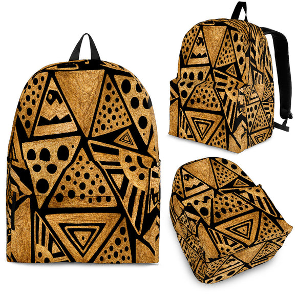 Africa Brown Stylish Backpack