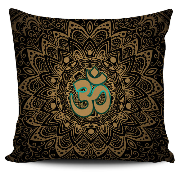 Amazing Elegant Golden Pillow Cover