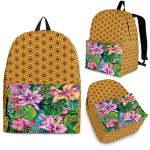 Tropical Orchid Backpack