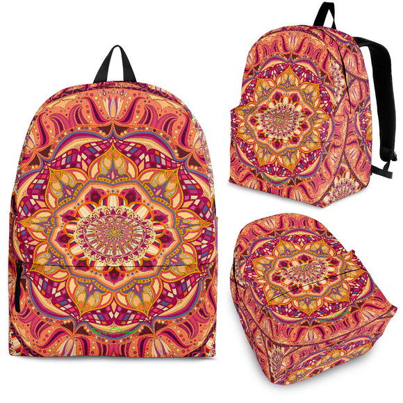 Exclusive Mandala Style Backpack 3 Special Edition by This is iT Original