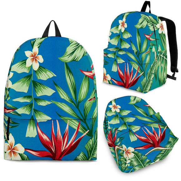 Jungle Flowers Backpack