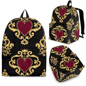 Luxury Royal Hearts Backpack