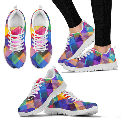 Summer Psychedelic Disco Women's Sneakers