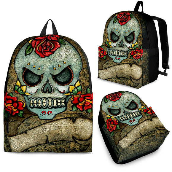 Angry Skull Backpack