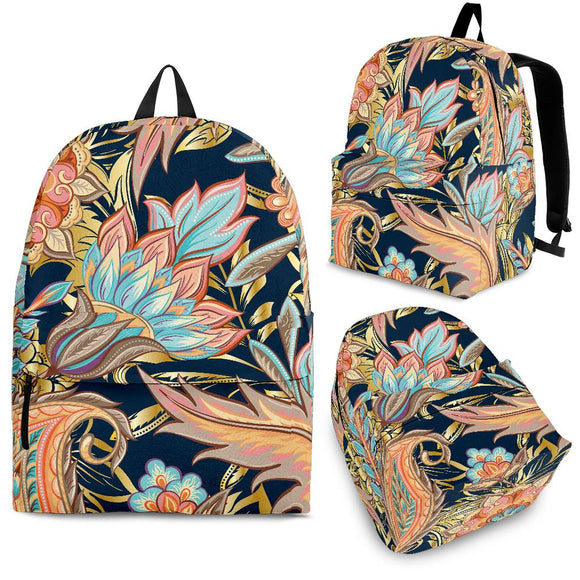 Romantic Paisley Backpack