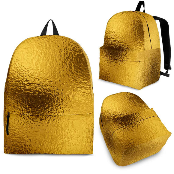 Glittering Gold Backpack