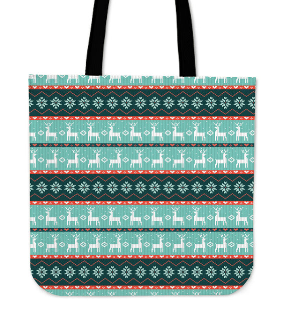 Christmas Good Vibes Only Cloth Tote Bag