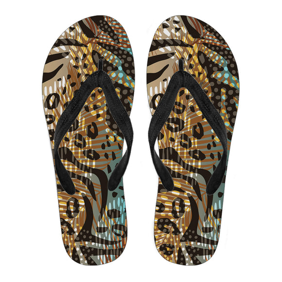 Lovely Natural Men's Flip Flops