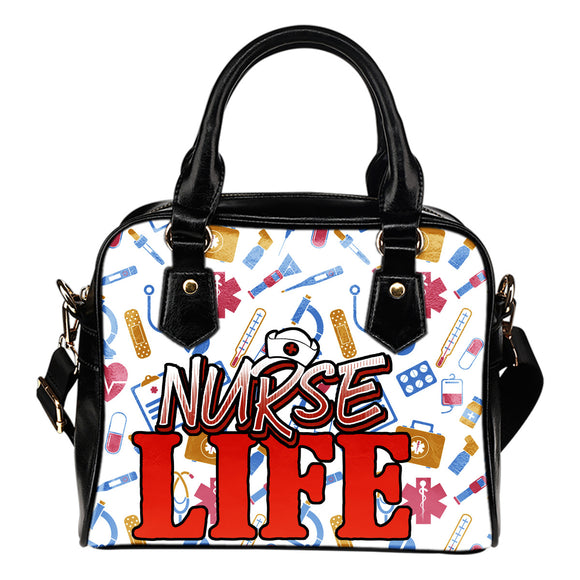 Nurse Life Shoulder Handbag