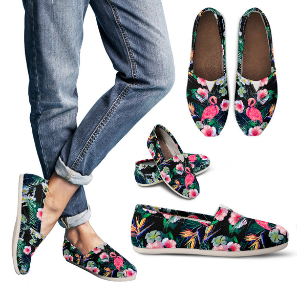 Morning In Flamingo Paradise Women's Casual Shoes
