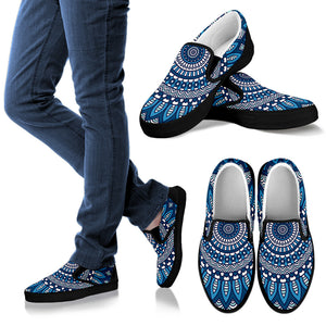 Lovely Boho Mandala Vol. 2 Women's Slip Ons