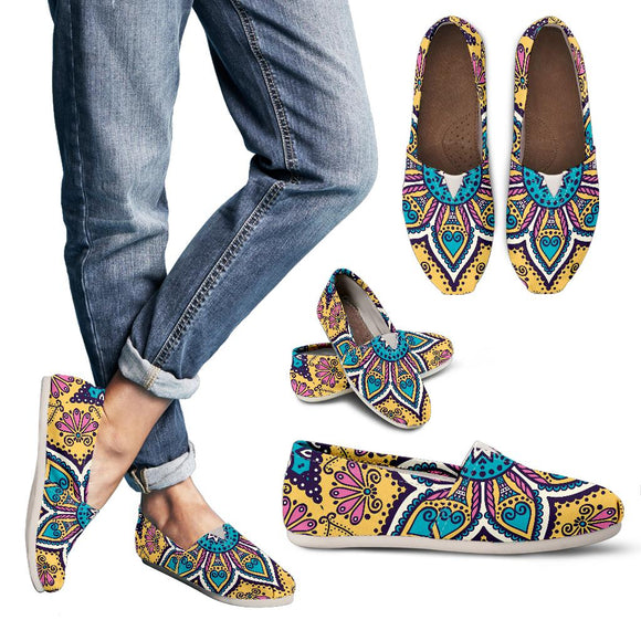Lovely Boho Mandala Vol. 3 Women's Casual Shoes