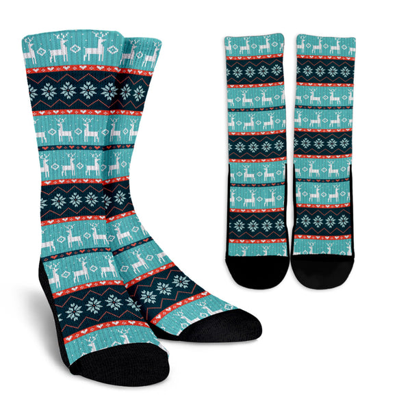Christmas Good Vibes Only Crew Socks